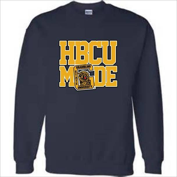 super cute de087 27eb8 Grambling State University Sweatshirt HBCU Black and Gold ...