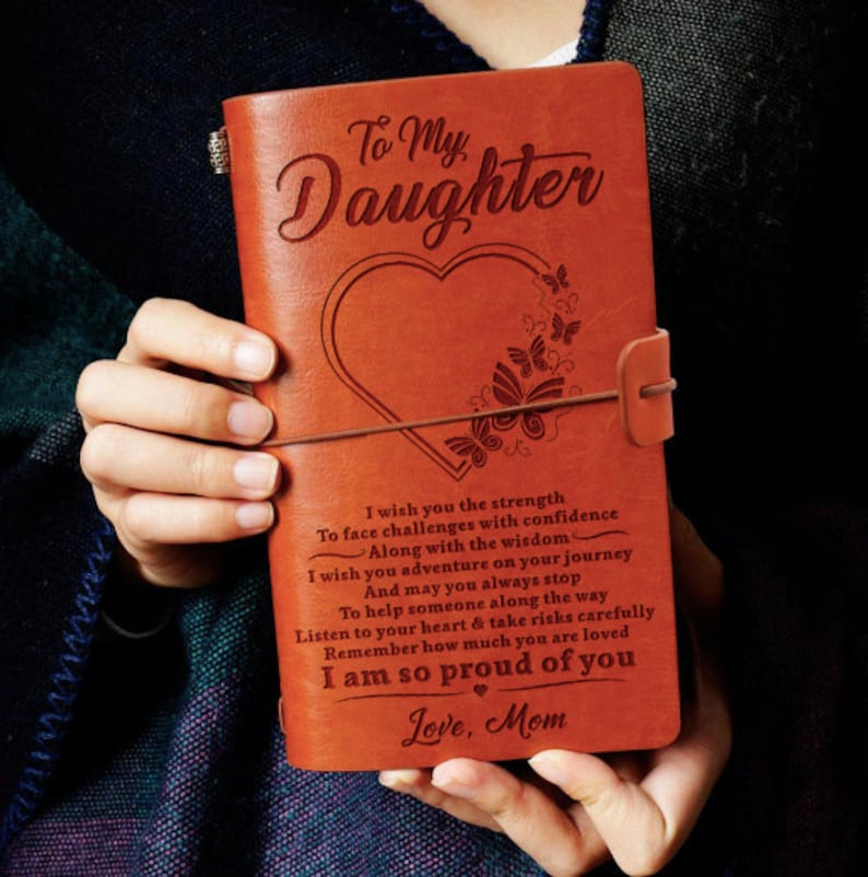 From Mom Daughter Gift I Wish You The Strength Journal Gift image 0
