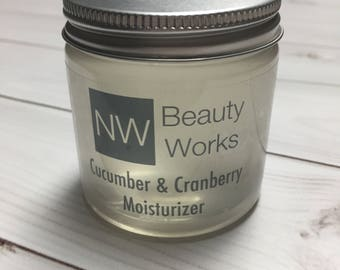 Cucumber & Cranberry Balancing Moisturizer | All over body moisturizer! | 4 OZ