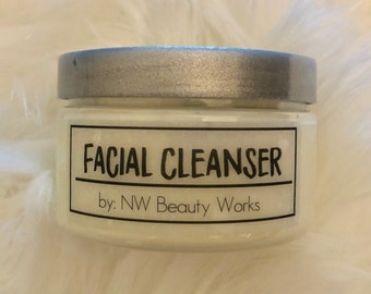 Antioxidant Facial Cleanser | Great for Sensitive Skin! | Fresh Lemon/Orange Scent | Will Make Your Skin SO Soft! | 4 OZ