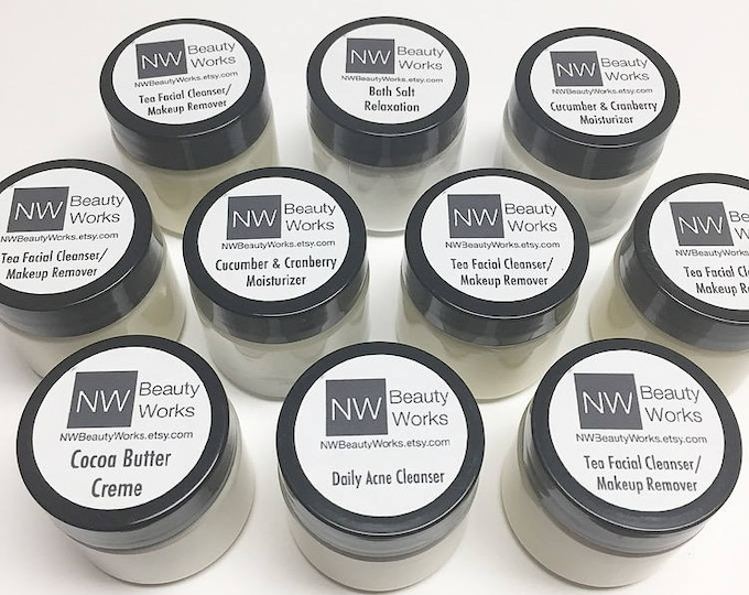 Featured listing image: Gift Bundle for HIM | FOUR 2 oz jars of our top products! | For ALL Skin Types!