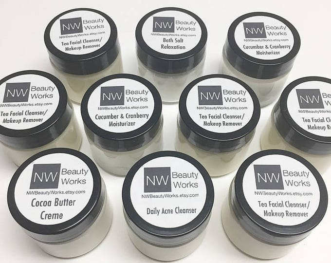 Featured listing image: Holiday Gift Bundle for HIM | FOUR 2 oz jars of our top products! | For ALL Skin Types!