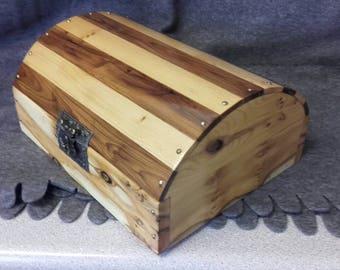 Yew memory / stationery box