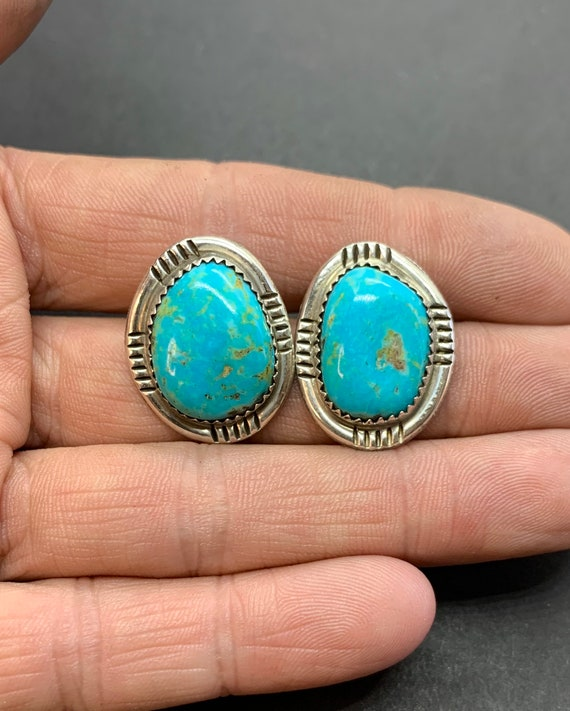 Signed GD Navajo Southwest Sterling Silver Genuine