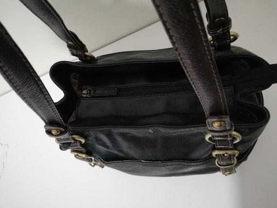 Vintage Colorado Leather Shoulder Bag - Cowhide L… - image 7