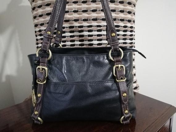 Vintage Colorado Leather Shoulder Bag - Cowhide L… - image 2