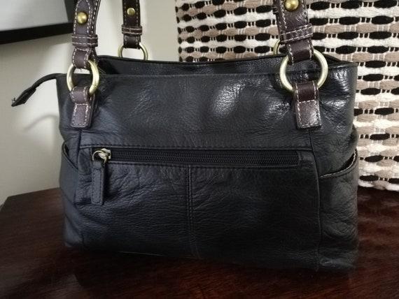 Vintage Colorado Leather Shoulder Bag - Cowhide L… - image 3