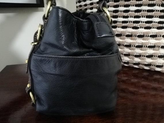 Vintage Colorado Leather Shoulder Bag - Cowhide L… - image 4