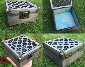 Laser cut out vintage box