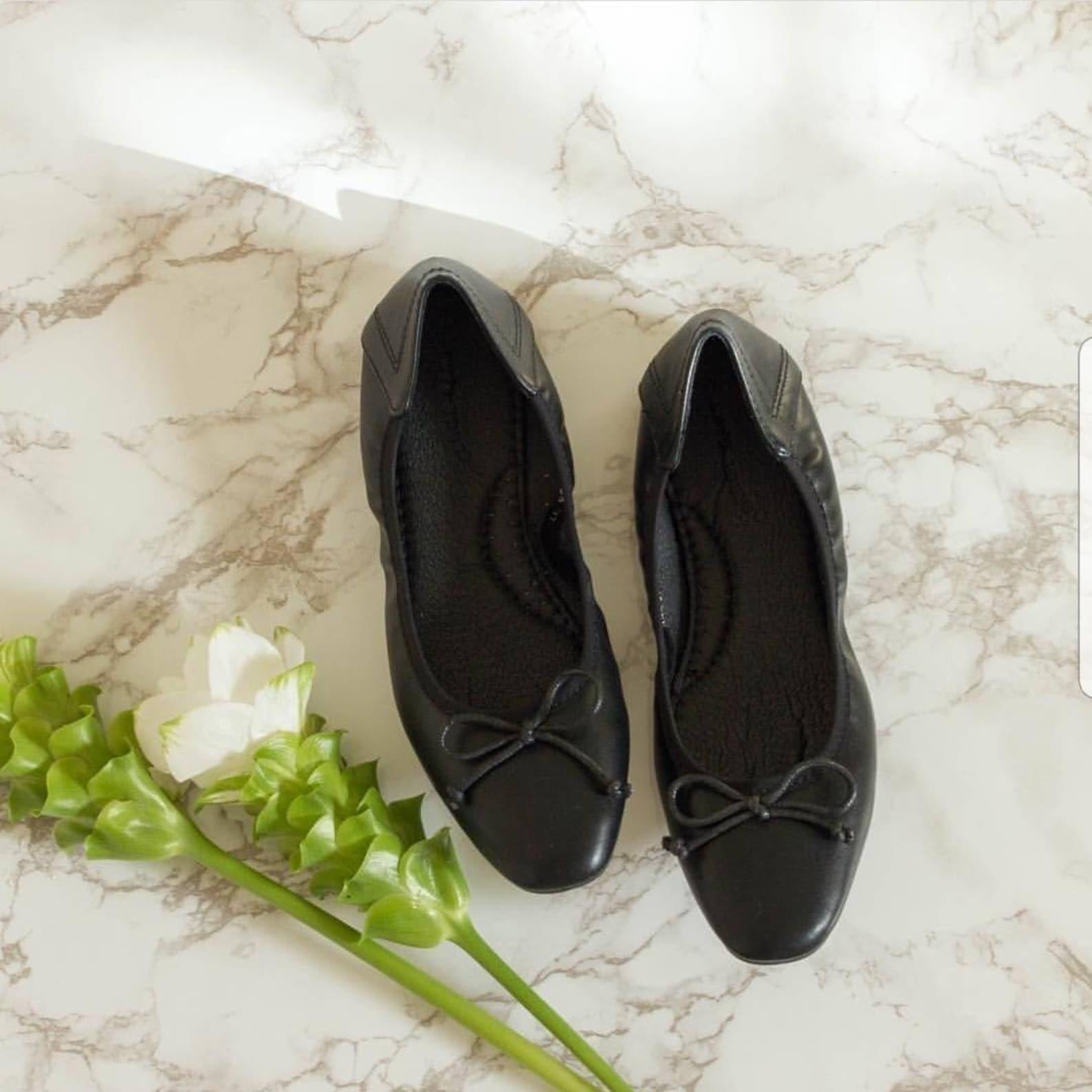 ballet flats, classic ballet flats, comfy ballet flats, ballerina flats, gift for her, ballerina shoes, working shoes, black sho