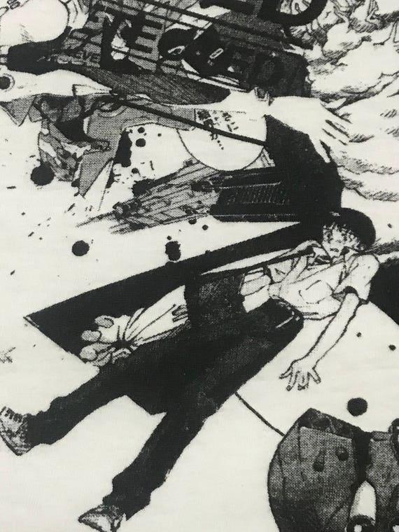 Vintage Evangelion anime all character promo tshi… - image 7