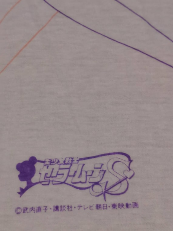 Very Rare Vintage Sailormoon cult anime tshirt / … - image 4