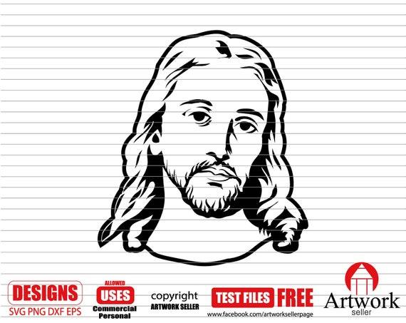 Jesus Svg Jesus Christ Svg Lord Svg Christian Svg Catholic Etsy
