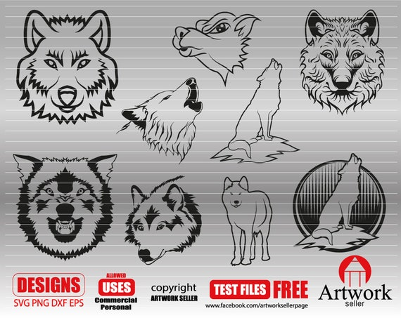 wolf clipart clipart dxf wild svg Cricut Files animal svg wolf face wolves svg WOLF SVG wolf head png Silhouette Cut File
