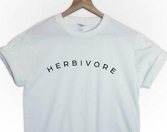HERBIVORE tshirt shirt tee top vegan vegeterian graphic tumblr vegan vibes funny