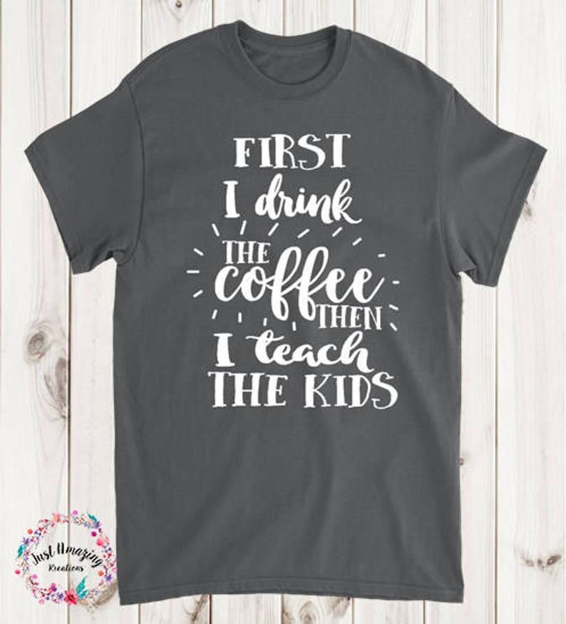 0beae1d72 Teacher Shirts Teacher Life T-Shirt Funny Teacher Shirt | Etsy