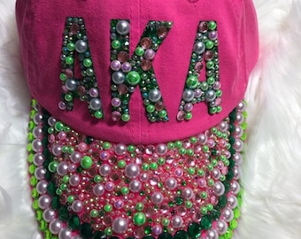 bf67c9642eaf AKA Inspired Hat Ivy League  Pearls 1908. TheIvyLeagueBoutique
