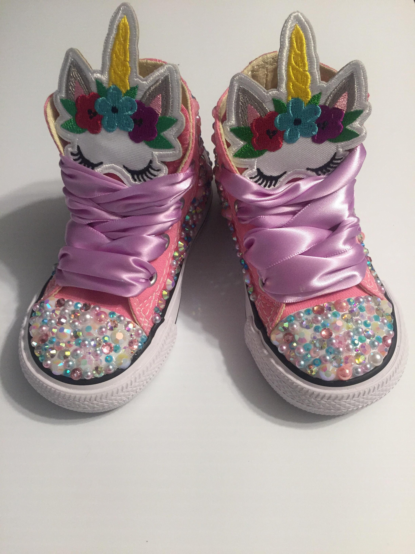 des babioles converser licornes licorne de custom licorne chaussures custom de converser custom chaussures girly bling f4c2cd