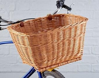 Classic Wicker Bike Basket