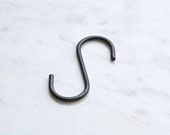 Iron S Hooks - Pack of 5