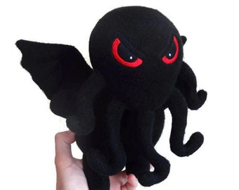 The Call Of Cthulhu. Fleece toy Chibi. Cthulhu plush. lovecraft