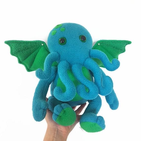 Fleece toy Chibi The Call Of Cthulhu Cthulhu plush lovecraft