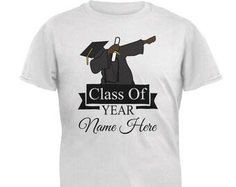 d66ade9fcab Custom Dabbing Graduate Graduation Personalize Name Mens T Shirt