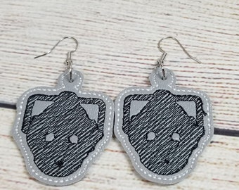 Geek-English-Earrings- In the Hoop- Dangles- ITH- Machine Embroidery Design-
