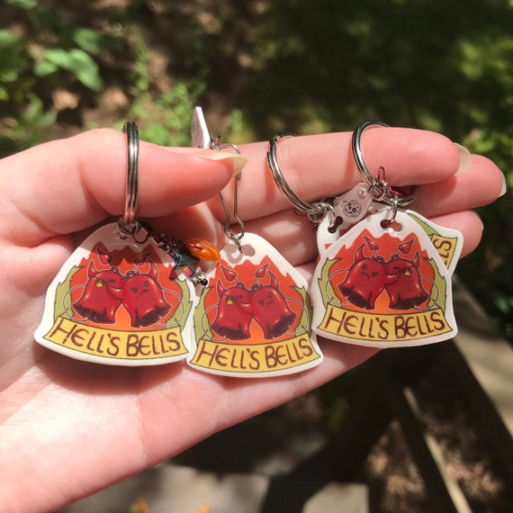 Bob the Skull Stars and Stones Hell\u2019s Bells The Dresden Files inspired charmskeychains- the Blue Beetle