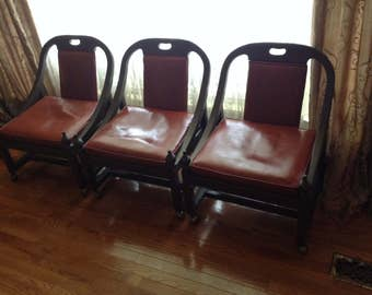 3 Drexel Vintage chairs