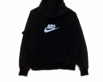 green nike swoosh hoodie women's