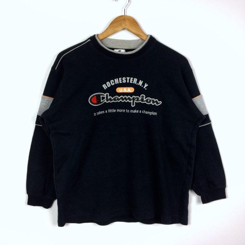 2d7b832dad76 Rare Vintage CHAMPION RONCHESTER NY Usa Crewneck Sweatshirt