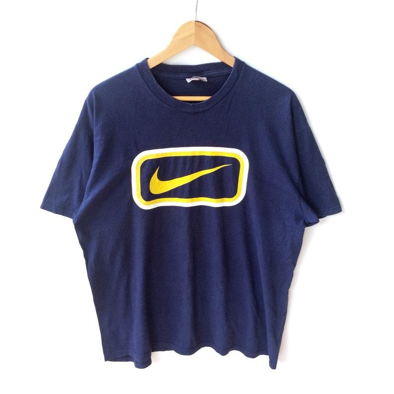 78a226566 Rare Vintage 90s NIKE AIR SWOOSH Sportswear Big Logo | Etsy