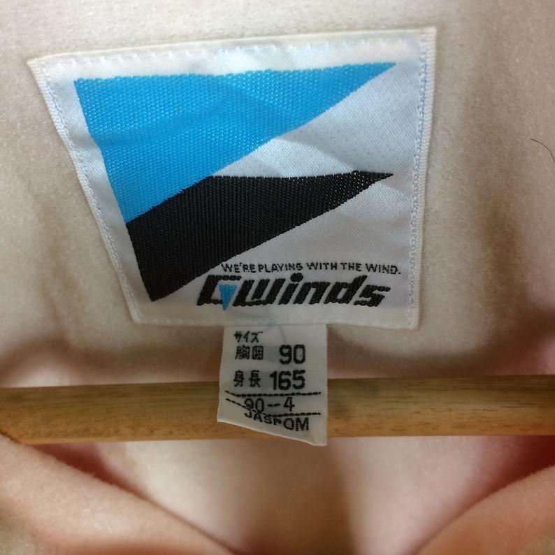 Rare!! Vintage CANADIAN NOTDMSK SKI Club Multicolour Half Zipper Jacket Small Size