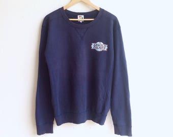 Rare! Vintage 90's ARNOLD PALMER small logo sweatshirt dark blue colour large size