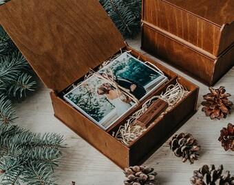 for photographer 5x7 photo box for photos 13x19cm wood print box wooden photo box wedding memory box 15x10 cm photo packaging