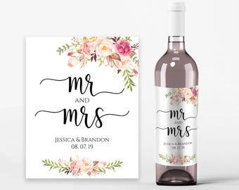 Printable wine label | Etsy