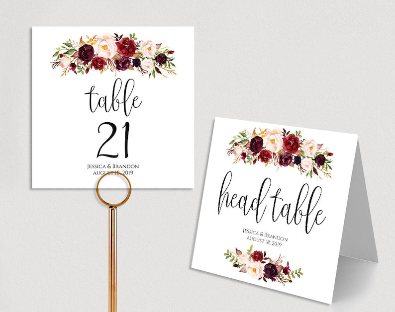 photograph relating to Printable Wedding Table Numbers identify Custom made Desk Quantities Printable Marriage ceremony Desk Quantities Wedding ceremony Desk Selection Template Folded PDF Fast Obtain Boho Stylish