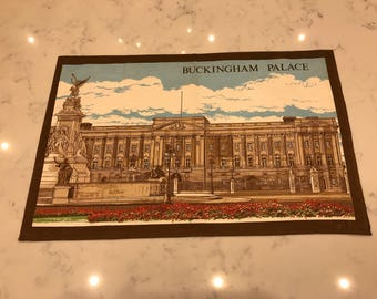 Buckingham Palace/Vintage Tea Towel