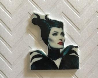 4pc. Evil Villian Maleficent planar flatback