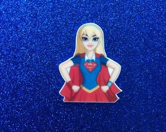 5pc. Superwoman Planar Flatbacks
