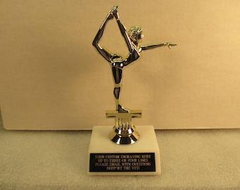 "Gymnastics Modern Dance 7"" Free Custom Engraving Ships 2 Day Priority Mail"