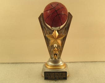 Basketball Award March Madness Youth Basketball Office Pool Free Custom Engraving Ships 2 Day Priority Mail