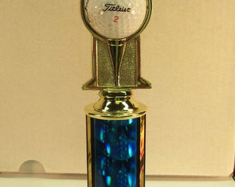 """Golf Award Trophy Hole in One 12"""" Free Custom Engraving Ships 2 Day Priority Mail Same Day!!"""