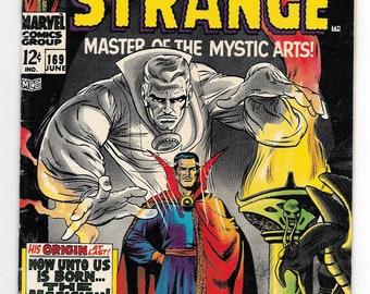 Doctor Strange #169 (#1) Great Gene Colan Art VG/F 5.0