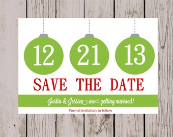save the date party etsy