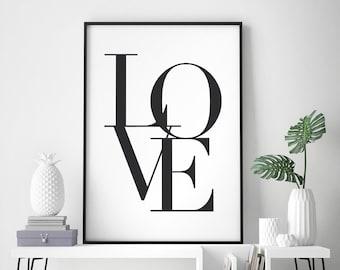 Poster Wohnzimmer | Poster Wohnzimmer Etsy