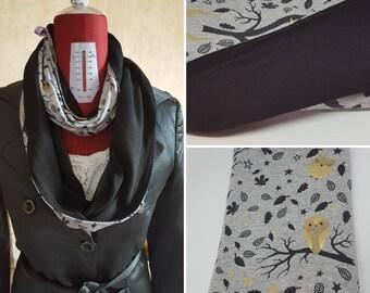 Tubular scarf / circular scarf