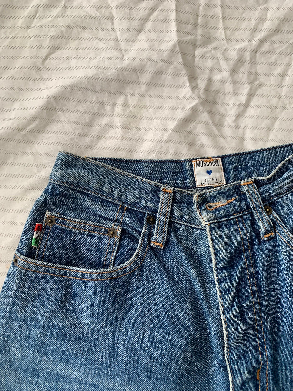 a889e0a250 90s Moschino jeans vintage denim rare