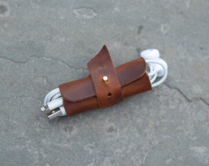 The Joint - Adjustable Leather Cord organizer
